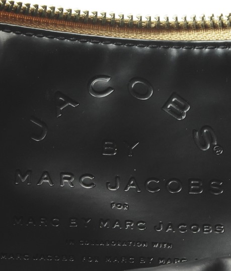 Marc Jacobs Leather Wristlet in Gold Image 9
