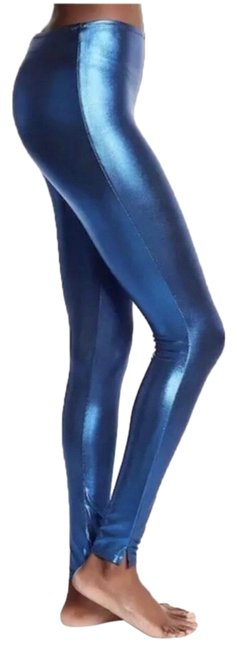 Preload https://img-static.tradesy.com/item/25973401/free-people-metallic-blue-girl-shine-second-skin-small-leggings-size-6-s-28-0-2-650-650.jpg