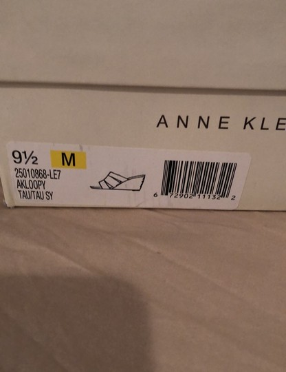 Anne Klein pewter Wedges Image 5