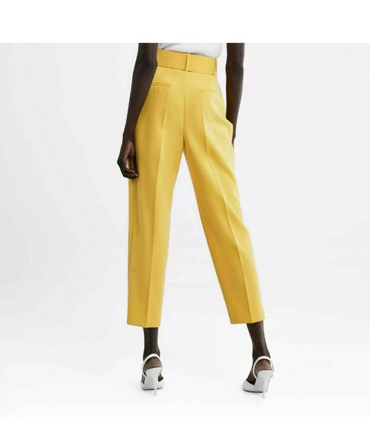Zara Trouser Pants yellow Image 3