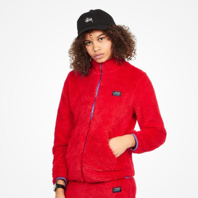 Stüssy Red Jacket Image 1