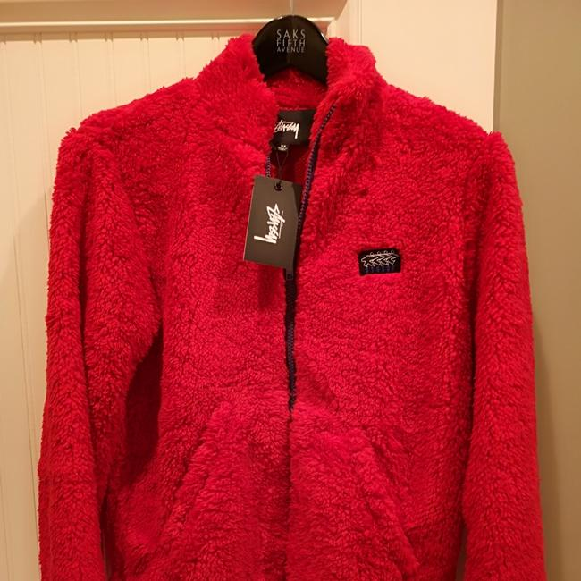 Stüssy Red Jacket Image 3