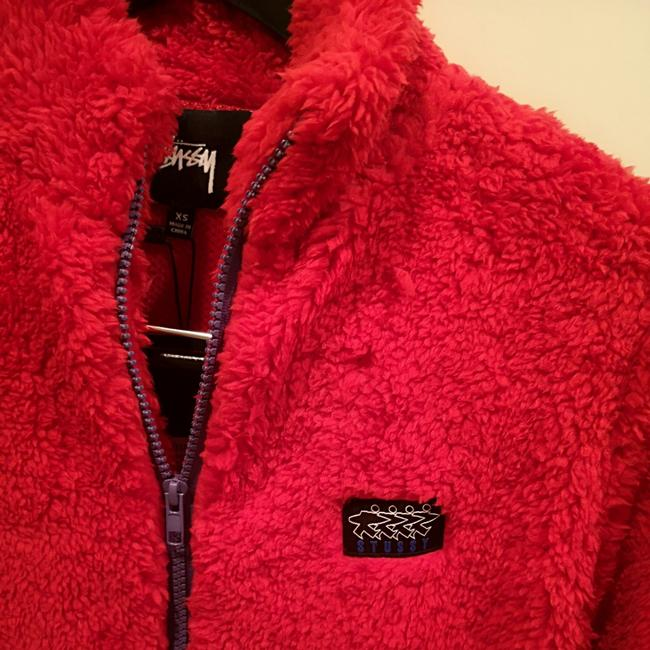 Stüssy Red Jacket Image 4
