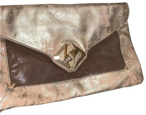7 For All Mankind Golden Clutch