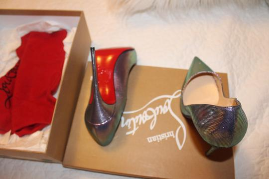 Christian Louboutin multi colors (silver) Pumps Image 3