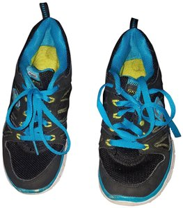 Sketchers Tennis Black/Blue Athletic