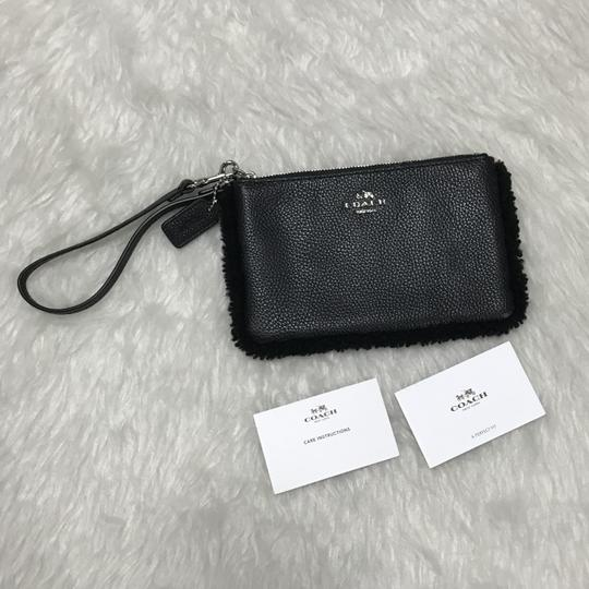Coach Wristlet in Black Image 1