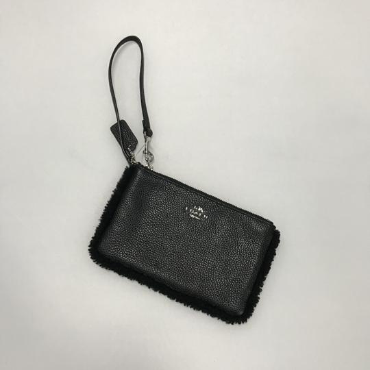Coach Wristlet in Black Image 3