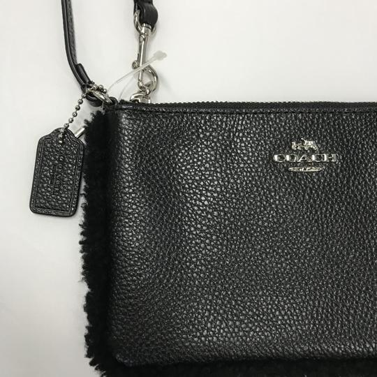 Coach Wristlet in Black Image 7