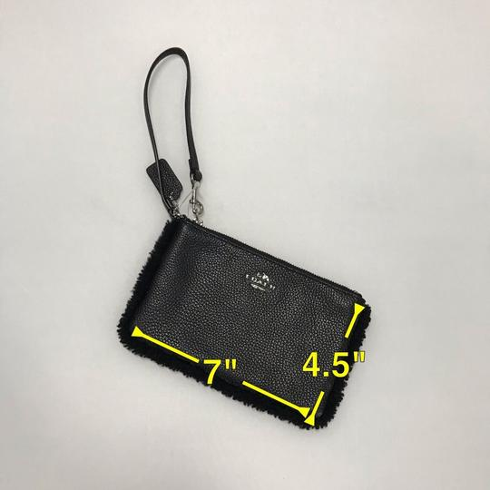 Coach Wristlet in Black Image 8