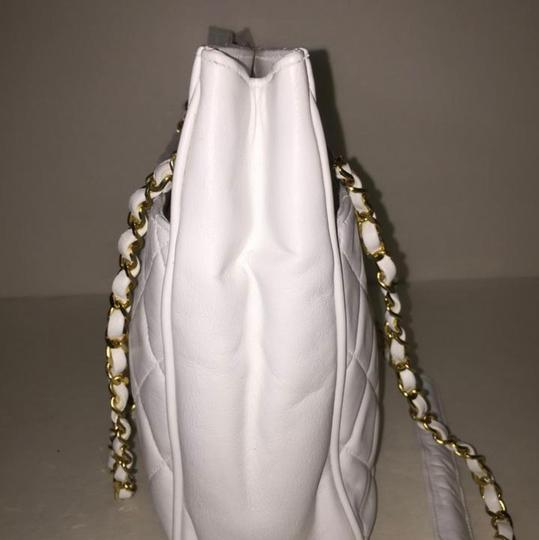 Chanel Tote in White Image 2