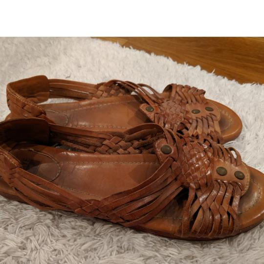Frye Brown, natural leather Sandals Image 1