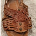 Frye Brown, natural leather Sandals Image 3