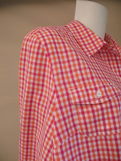 Tommy Hilfiger Button Down Shirt Checkered Image 1