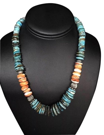 Preload https://img-static.tradesy.com/item/25973685/turquoise-sterling-silver-necklace-0-2-540-540.jpg
