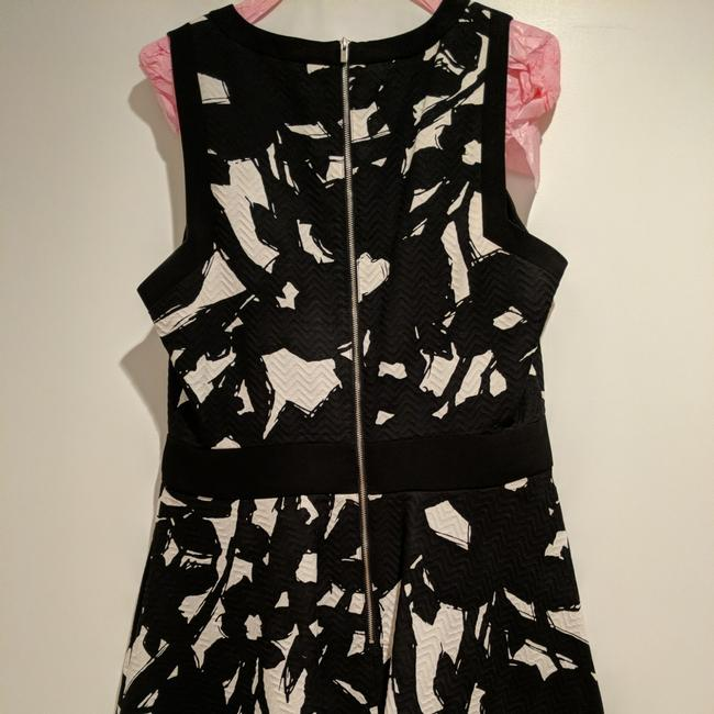 Banana Republic short dress Black and White floral on Tradesy Image 2