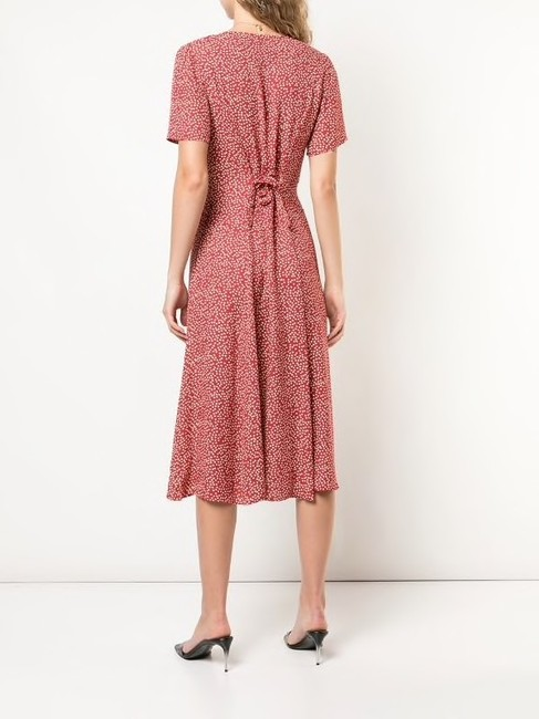 Red Maxi Dress by Reformation Image 2