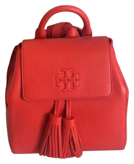 Preload https://img-static.tradesy.com/item/25973795/tory-burch-thea-small-red-leather-backpack-0-2-540-540.jpg