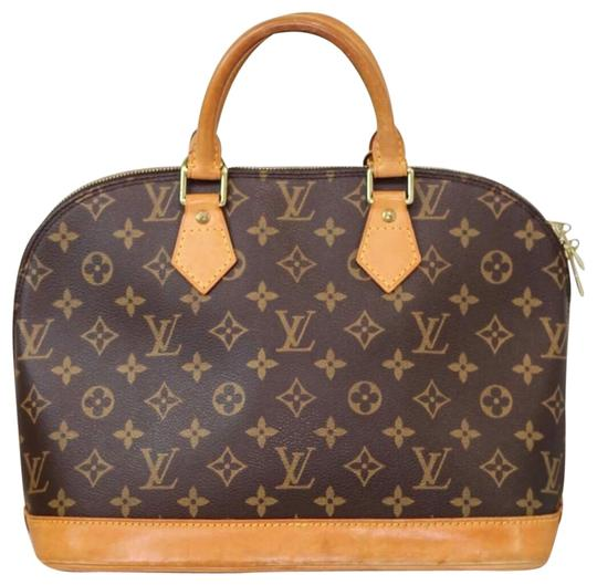Preload https://img-static.tradesy.com/item/25973840/louis-vuitton-alma-brown-leather-satchel-0-2-540-540.jpg