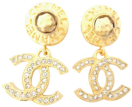Preload https://img-static.tradesy.com/item/25973854/chanel-gold-plated-cc-logos-double-sided-crystal-dangle-drop-clips-earrings-0-2-540-540.jpg