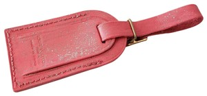 Louis Vuitton LOUIS VUITTON ID Name Luggage Tag for Luggage PINK GLITTER RECYCLED