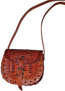 Unknown Hand Tooled Nicaragua Mexican Handmade Cross Body Bag