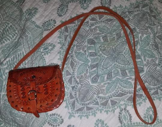 Unknown Hand Tooled Nicaragua Mexican Handmade Cross Body Bag Image 1