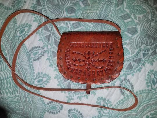 Unknown Hand Tooled Nicaragua Mexican Handmade Cross Body Bag Image 2