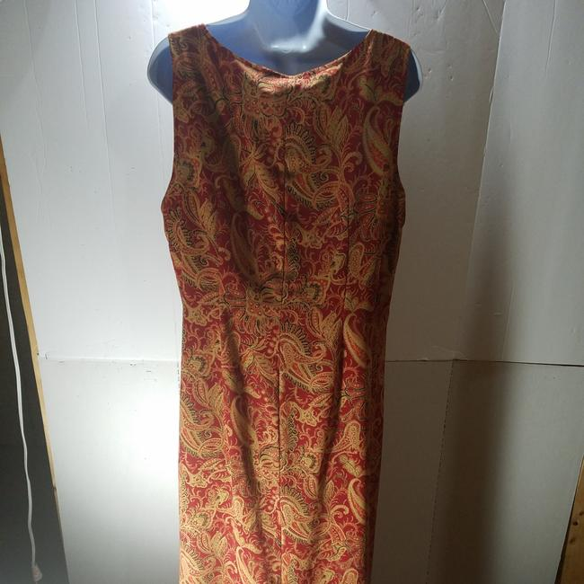 Red/Brown Maxi Dress by unknown Image 1