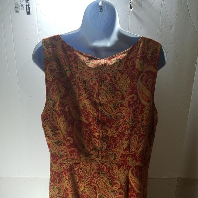 Red/Brown Maxi Dress by unknown Image 2