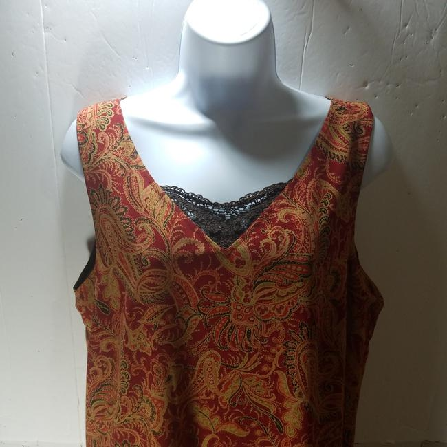 Red/Brown Maxi Dress by unknown Image 3
