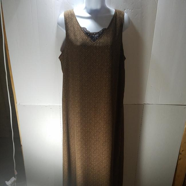 Red/Brown Maxi Dress by unknown Image 6