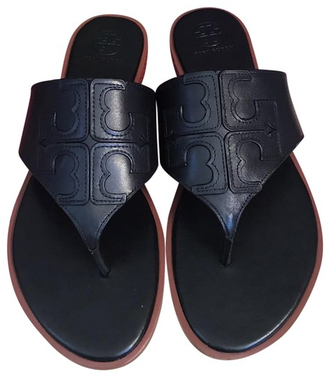 Preload https://img-static.tradesy.com/item/25973931/tory-burch-black-jamie-95m-full-logo-thong-calf-leather-sandals-size-us-95-regular-m-b-0-1-540-540.jpg