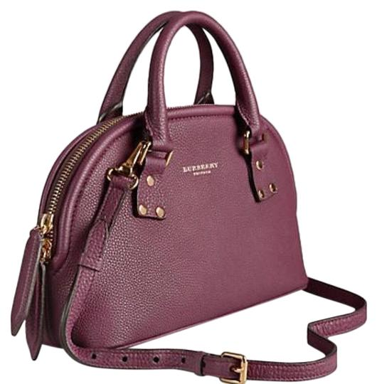 Preload https://img-static.tradesy.com/item/25973950/burberry-bloomsbury-prorsum-handbag-dark-purple-leather-satchel-0-1-540-540.jpg