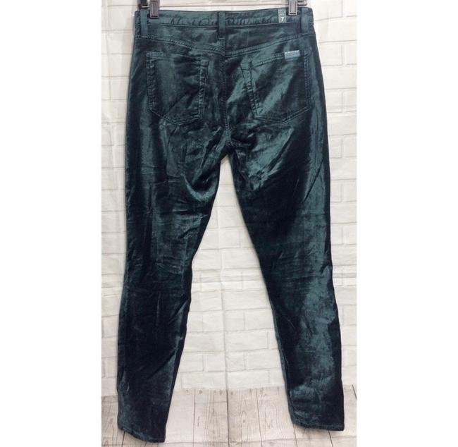 7 For All Mankind Skinny Jeans-Coated Image 5