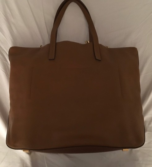 Michael Kors Collection Tote in Luggage Image 3