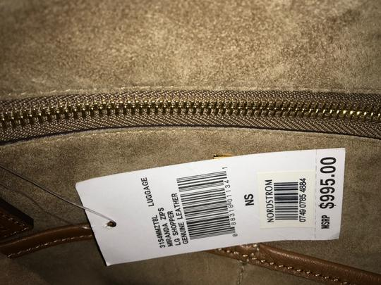 Michael Kors Collection Tote in Luggage Image 5