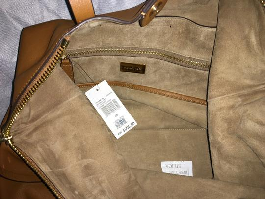 Michael Kors Collection Tote in Luggage Image 7