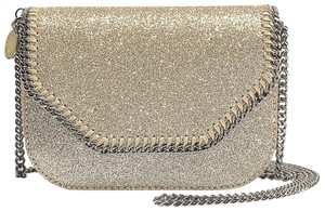 Stella McCartney Metallic Mini Tote Falabela Falabella Box Shoulder Bag