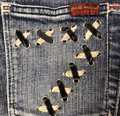 7 For All Mankind Boot Cut Jeans-Medium Wash Image 4