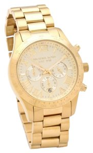 Michael Kors Michael Kors Men's Layton Gold-Tone Watch MK8214
