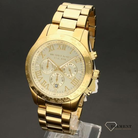 Michael Kors Michael Kors Men's Layton Gold-Tone Watch MK8214 Image 1
