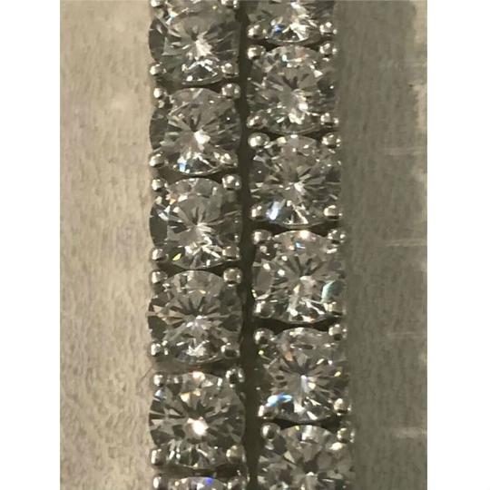 Harlembling Harlembling 14k White Gold Solid Ag 5mm Tennis Chain Necklace Image 6
