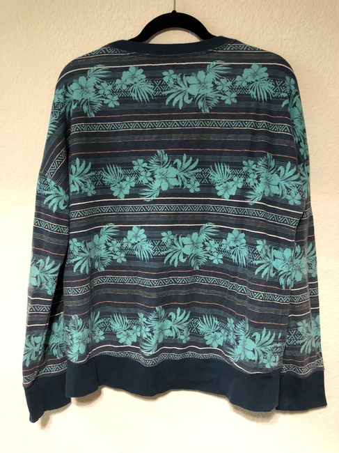 Mossimo Supply Co. Tropical Stripes Sweater Image 1