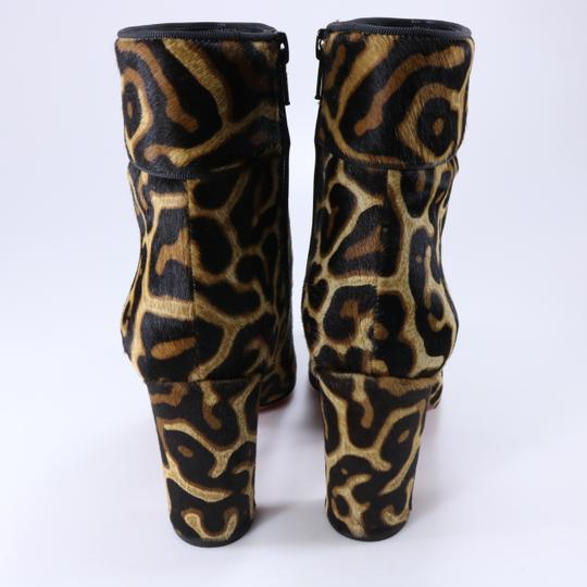 Christian Louboutin Moulamax Leopard Leopard Animal Print Brown Boots Image 11
