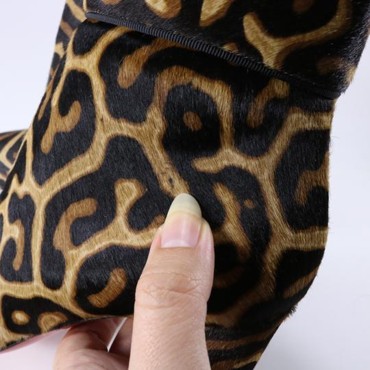 Christian Louboutin Moulamax Leopard Leopard Animal Print Brown Boots Image 7