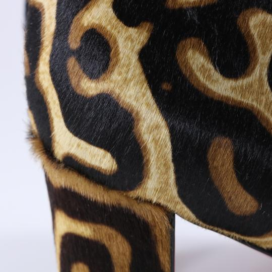 Christian Louboutin Moulamax Leopard Leopard Animal Print Brown Boots Image 8