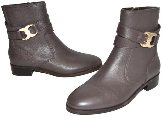 Preload https://img-static.tradesy.com/item/25974161/tory-burch-black-suede-gemini-gold-logo-leather-brown-m29-bootsbooties-size-us-6-regular-m-b-0-3-540-540.jpg