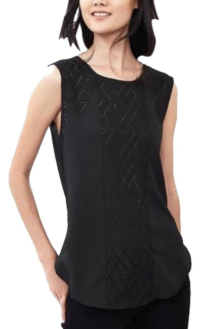 Item - Black Lace Muscle Tunic Size 12 (L)