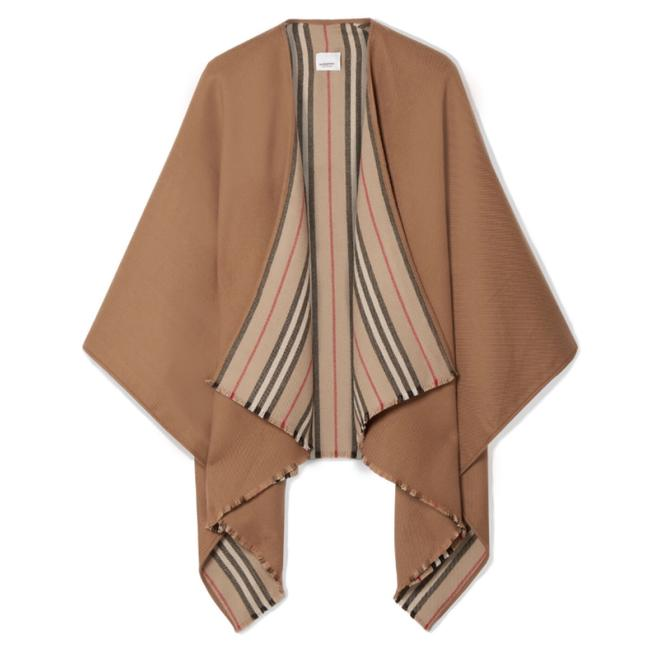 Preload https://img-static.tradesy.com/item/25974714/burberry-reversible-stripe-wool-wrap-ponchocape-size-os-one-size-0-0-650-650.jpg
